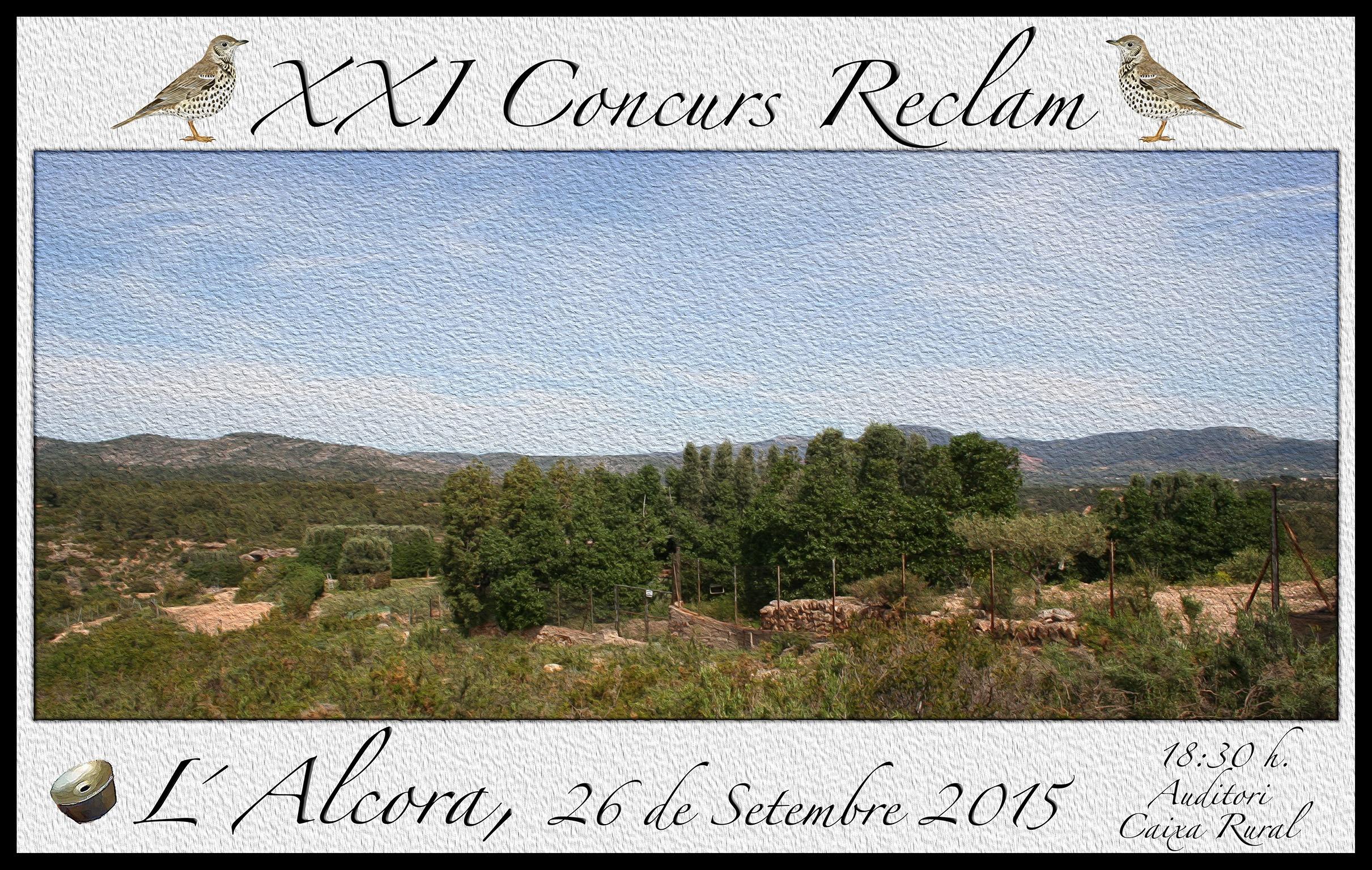 Concurs Reclam 2015