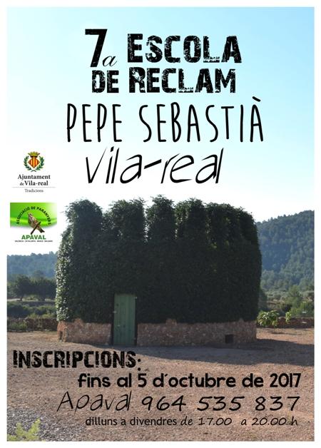 Cartell escola de reclam_Vilareal2017_ok