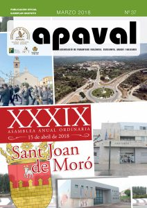 APAVAL - Associació de paranyers - núm. 37 - març 2018