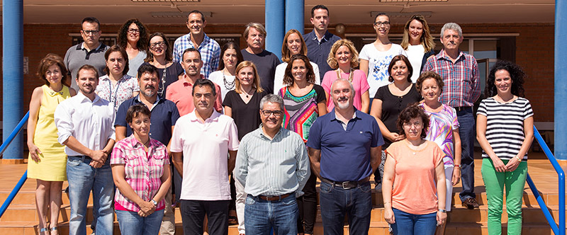 Profesorado del Colegio Santa Maria de Vila-real