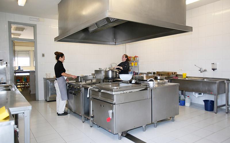 Cocina del Colegio Santa Maria de Vila-real