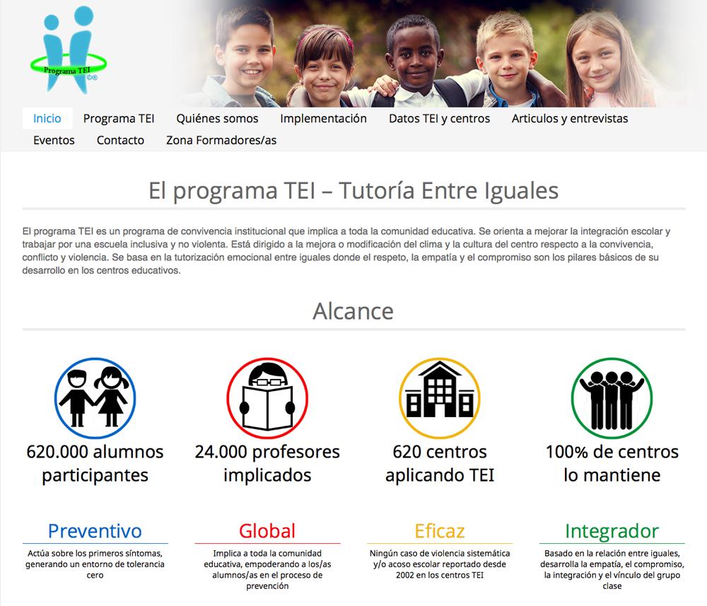 Programa TEI «Tutoria entre Iguales»