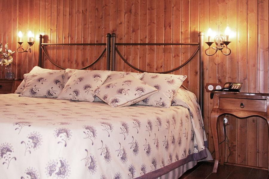 Vista de las camas
